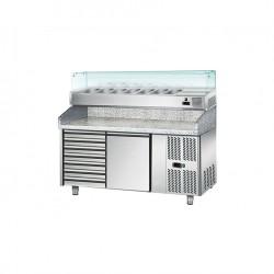 Mesa Refrigerada para Pizza